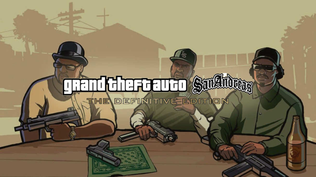 GTA Trilogy The Definitive Edition - San Andreas