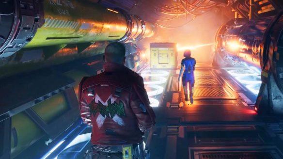 Marvel's Guardians of the Galaxy z włączonym ray tracingiem