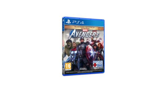 Marvel's Avengers Edycja Deluxe PS4
