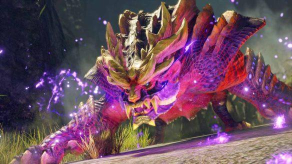 Monster Hunter Rise - potwór