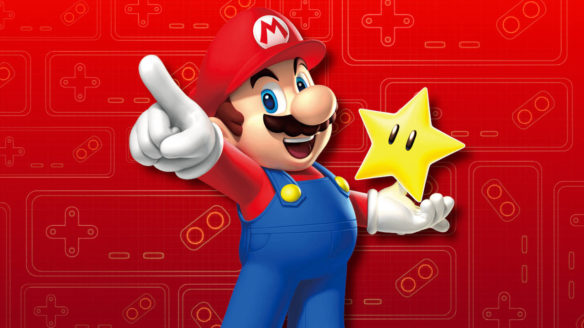 Nintendo Switch Online - Mario with star - PG