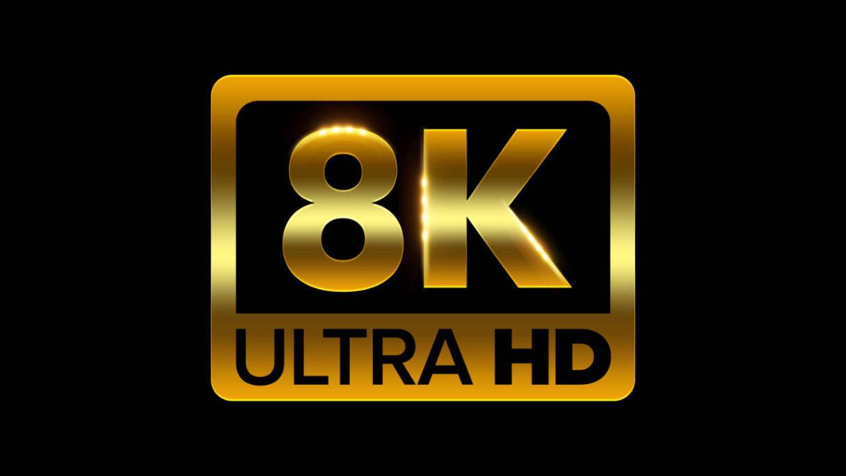 PS5 - logo rozdzielczości 8K