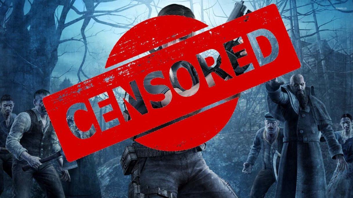 Re 4 VR cenzura