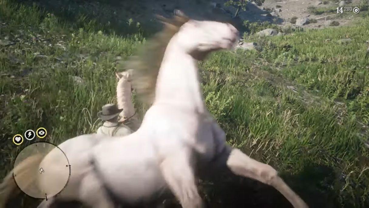 Red Dead Redemption 2 konik