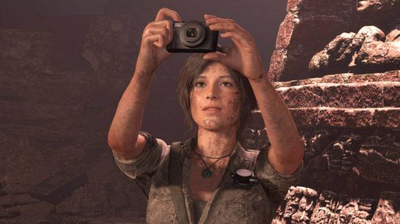 Shadow of the Tomb Raider - Lara Croft robi zdjęcie - PG