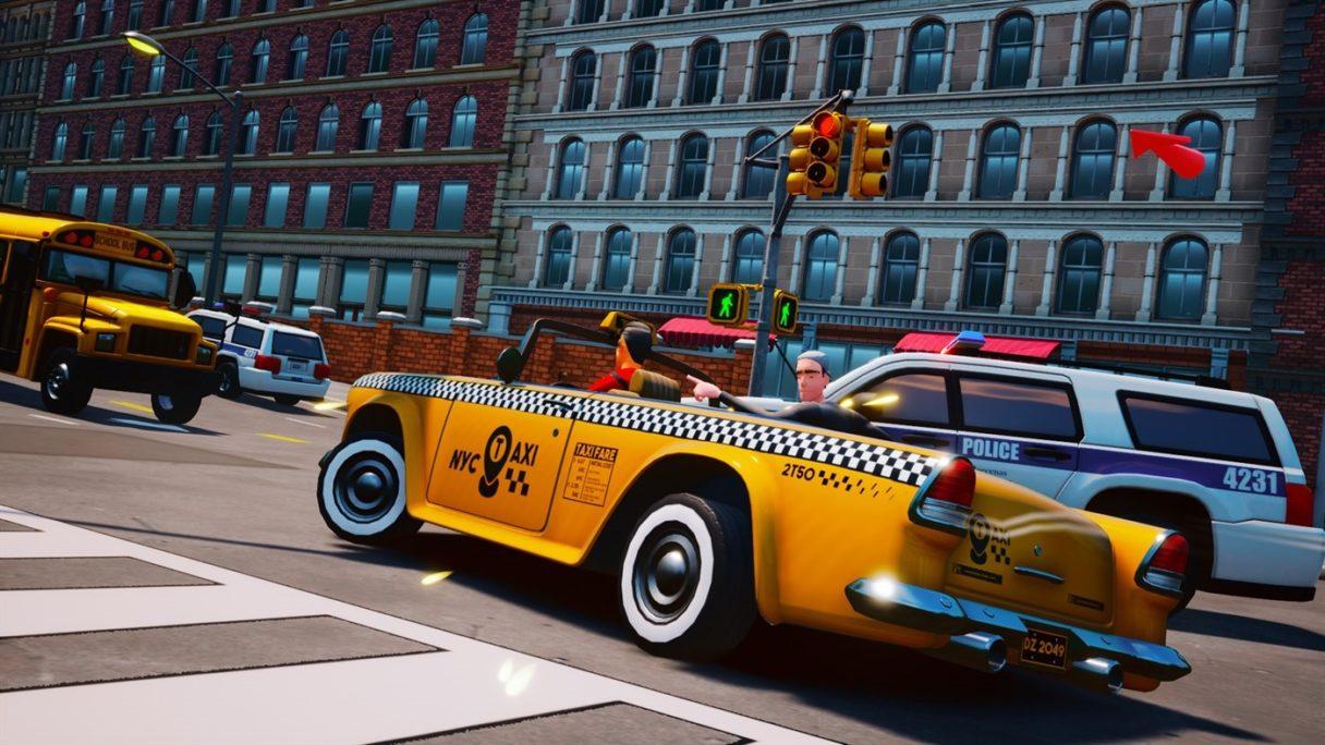 Taxi Chaos taksóweczka