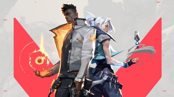 Valorant - Jett i Phoenix stoją obok siebie