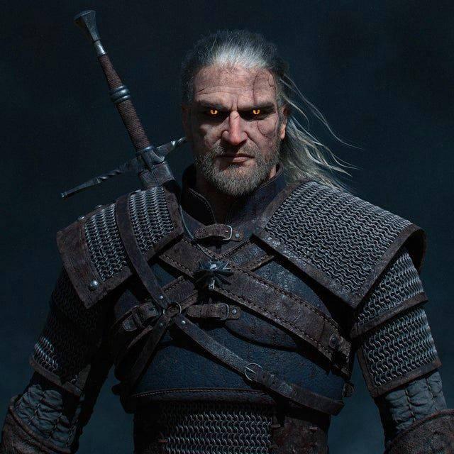 Wiedźmin 3 Dziki Gon - next-generacyjny Geralt bez kaptura - PG
